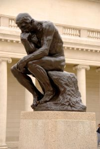 The Thinker (image credit: wikimedia commons)
