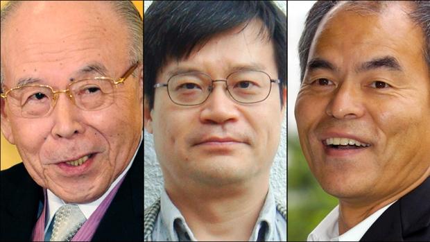 Isamu Akasaki, Hiroshi Amano dan Shuji Nakamura